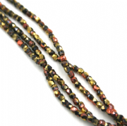 Czech Beads - Fire Polished - 2mm